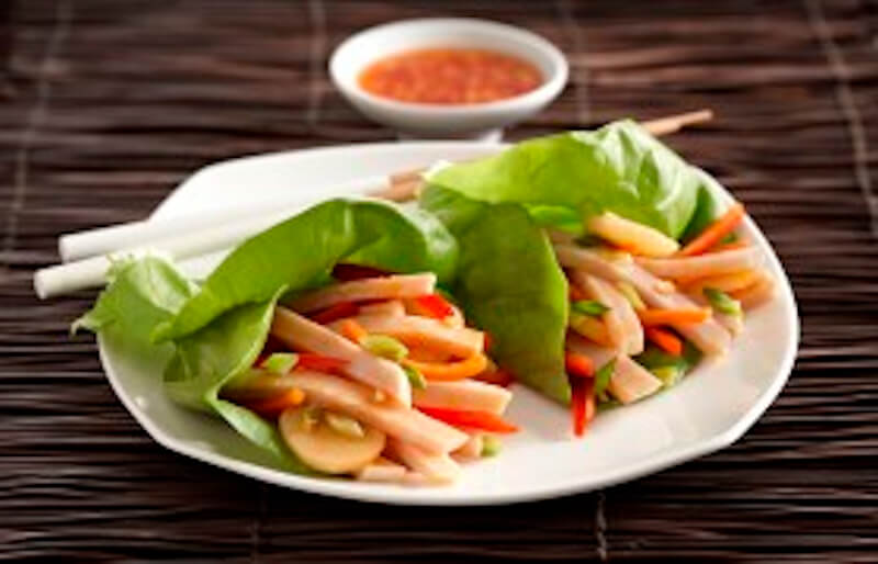 Korean Ssam Lettuce Wrap