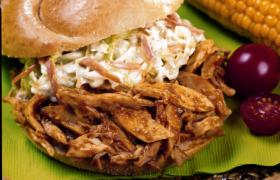 Carolina Chicken BBQ Sandwiches
