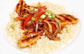 Jerk Chicken over Rice
