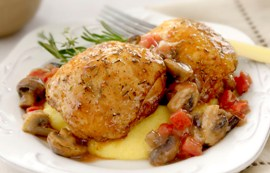 Chicken and Mushroom Melange