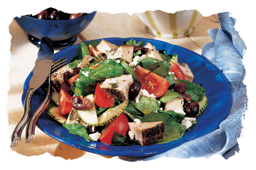 Mykonos Turkey Salad