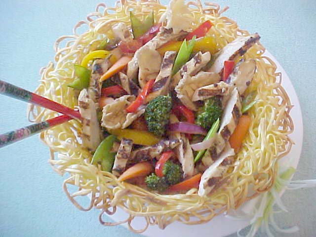 Pan-Asian Chicken Stir Fry