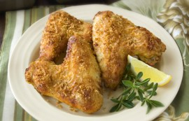 Dijon Parmesan Chicken Wings