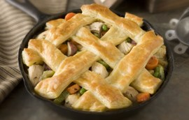 Easy Skillet Chicken Pot Pie