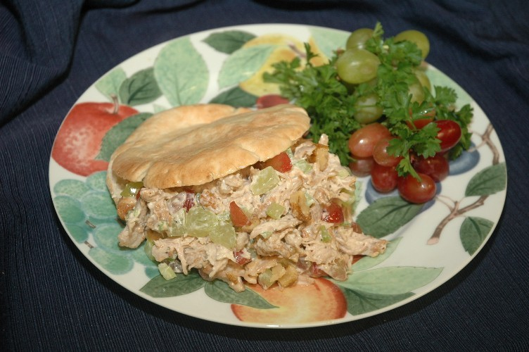 Turkey Salad Pita Pocket