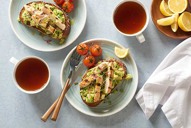 Avocado Toast with Chicken
