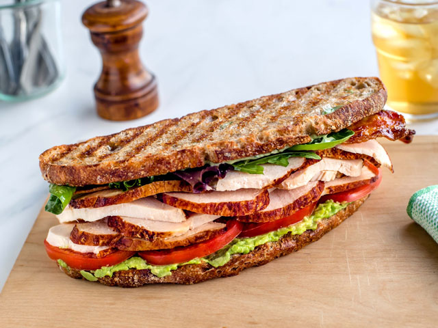 Roasted Turkey Panino