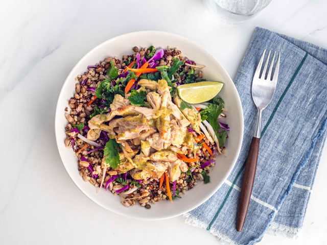 Thai Chicken Grain Bowl