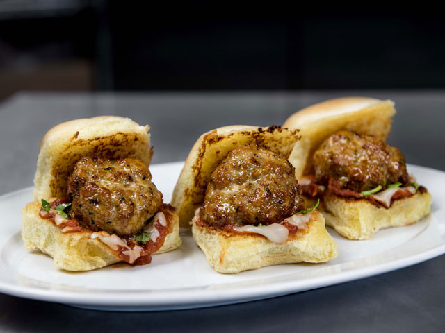 Turkey Meatball Sliders
