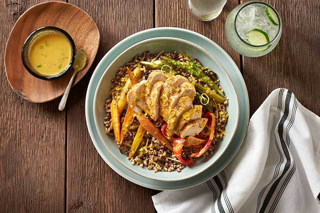 Chicken and Ancient Grain Power Bowl