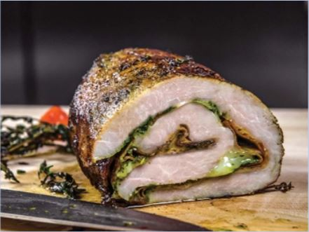Tuscan Turkey Breast Roulade