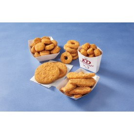 KINGS DELIGHT® NO ANTIBIOTICS EVER, Fully Cooked, Whole Grain, Popcorn Shaped Chicken Breast Patties,…<br/>(66209)