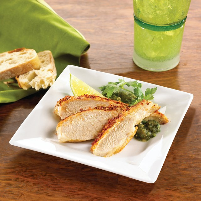 PERDUE® CHEF REDI® Ready to Cook Chicken Breast Filet with Rib Meat, Marinated, 4 oz., Frozen<br/>(07081)