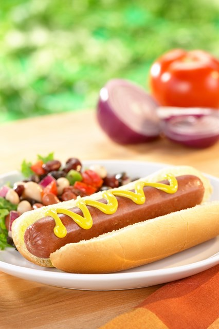 PERDUE® HARVESTLAND® NO ANTIBIOTICS EVER Uncured Beef Hot Dog, 8/1 lb<br/>(56655)