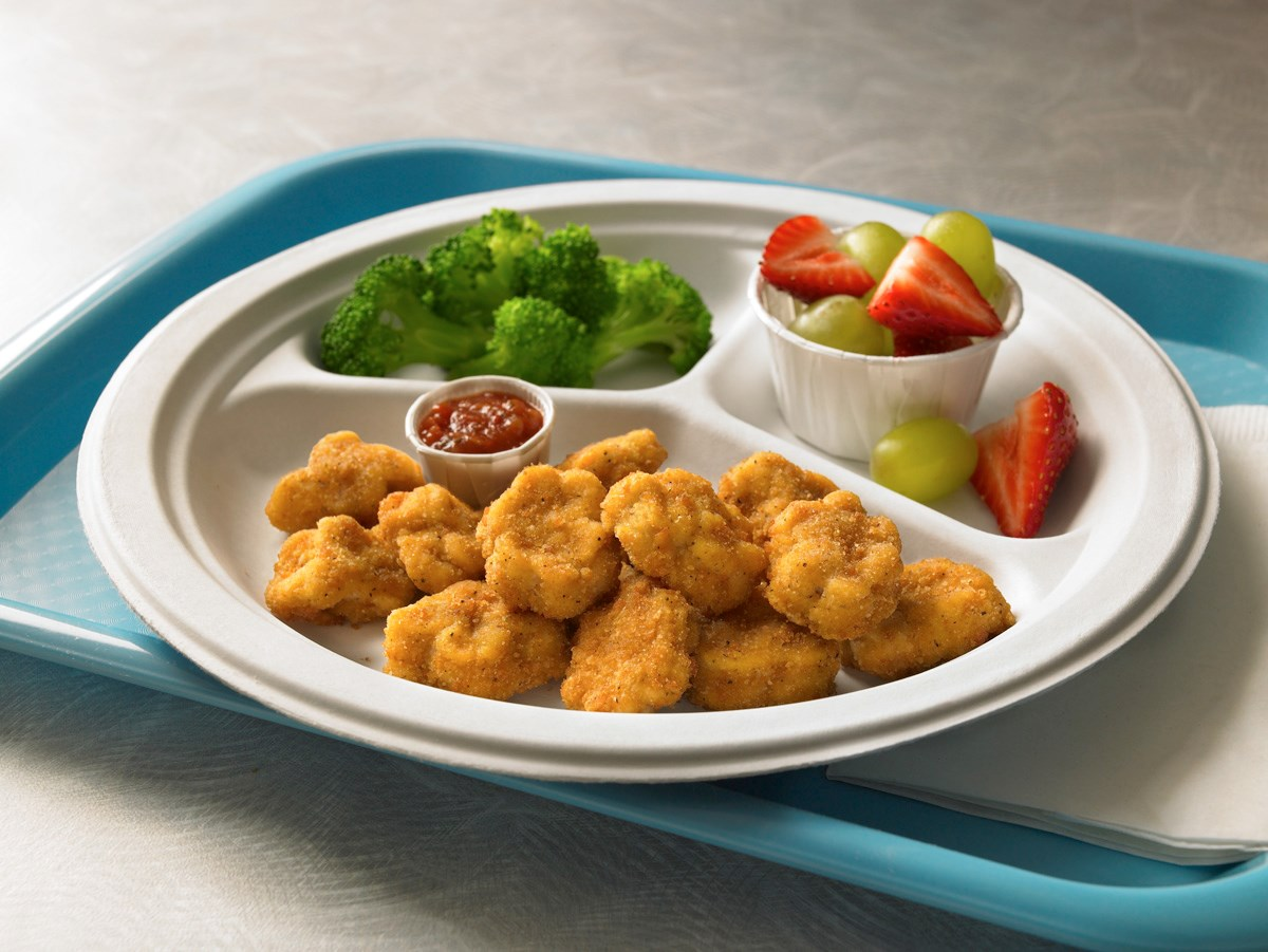 Perdue® Chicken Plus™ Snack-Atizers®, No Antibiotics Ever, Fully Cooked, Breaded Chicken Breast Chunks,…<br/>(81700)